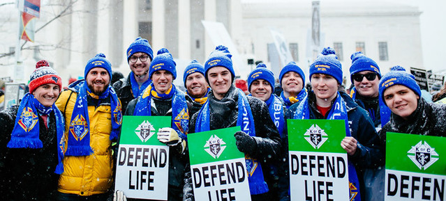 Defend life march