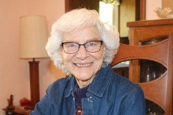 At 100, nothing slows Therese Berg down
