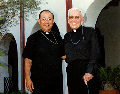 Bishop Moreno and Bishop Green