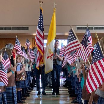 Queen of Angels Military Appreciation Mass featured in Catholic Philly.org