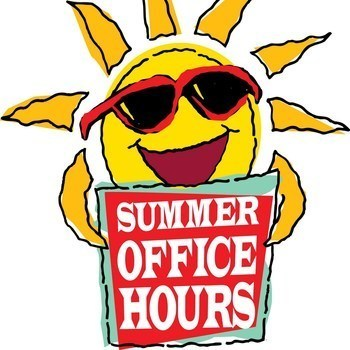 School Office Summer Hours