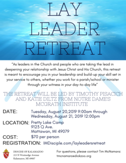 Institute of Missionary Discipleship Lay Leader Retreat