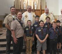 Annual Scout Mass