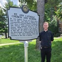 Historical marker recognizes 100 years of St. Ann