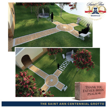 Saint Ann Church to build grotto to honor Saint Ann and the Blessed Virgin Mary