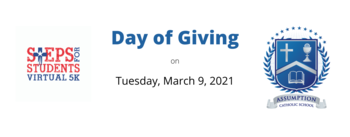 Steps for Students Day of Giving