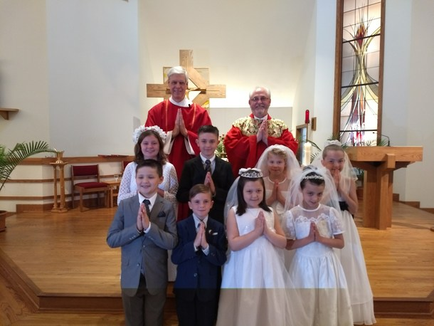 2018 First Communion Class