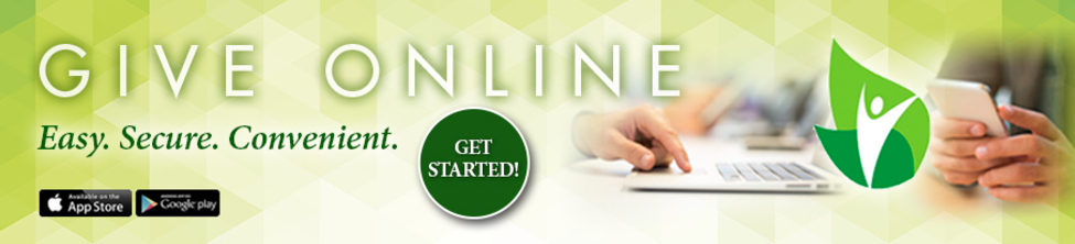Click HERE to sign up for Online Giving