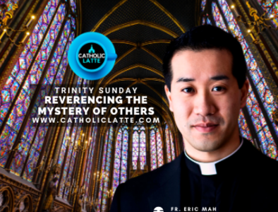 Check out Fr. Eric's NEW video podcast!