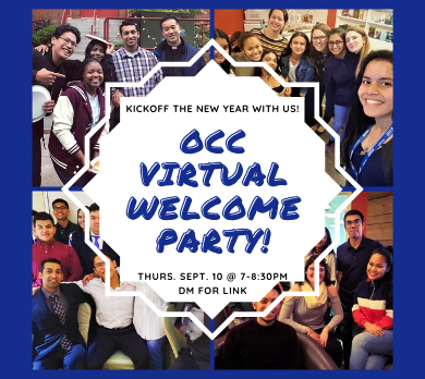 Virtual Welcome Party