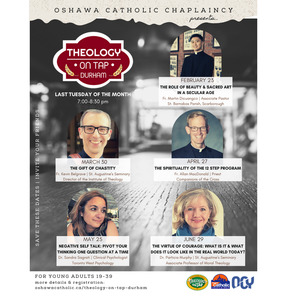 theology on tap poster