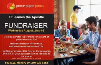 Peter Piper Pizza Night