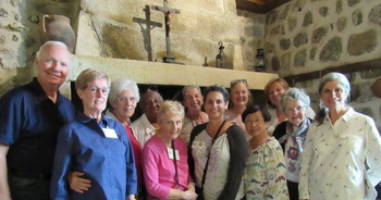Friends and Associates of the St Augustine Congregation Make a Pilgrimage