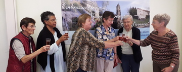 Many Thanks to Sr. Ieda Tomazini for 12 Years of Service to the International Centre