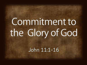 What's Our Commitment to God?