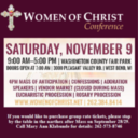 Women of Christ Conference