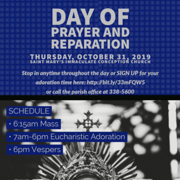 Day of Prayer and Adoration