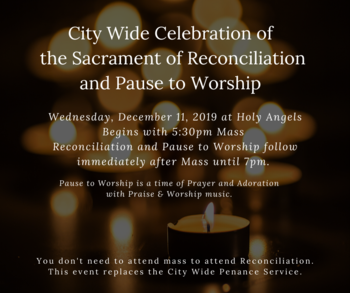 City-Wide Sacrament of Reconciliation Celebration