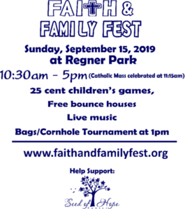 Faith and Family Fest 2019