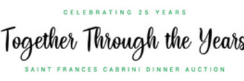 Cabrini Together Dinner Auction