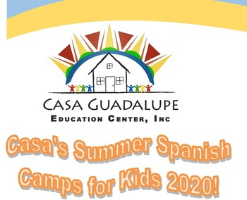 Casa Guadalupe offering Spanish Summer Camp