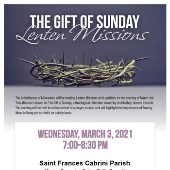 The Gift of Sunday-Mission