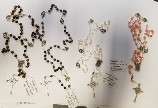 saint anthony chapel rosary pittsburgh pa catholic prayer cross shrines