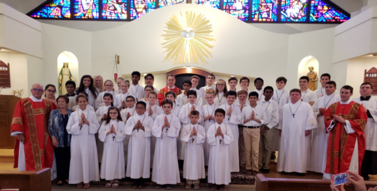 Altar Servers - Holy Family Catholic Church - Jacksonville, FL