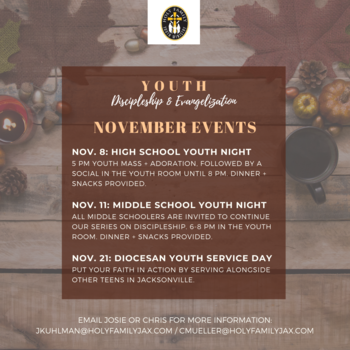 Middle School Youth Night