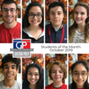 Students of the Month - October 2019