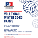 Volleyball: Co-Ed Winter Camp