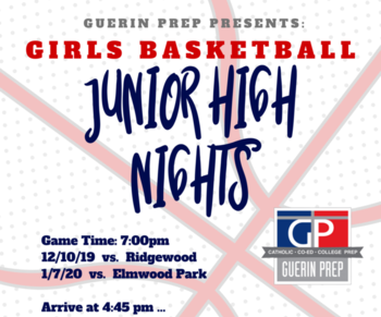 Junior High Night - Girls Basketball