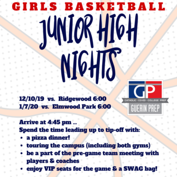 Girls Basketball Junior High Night