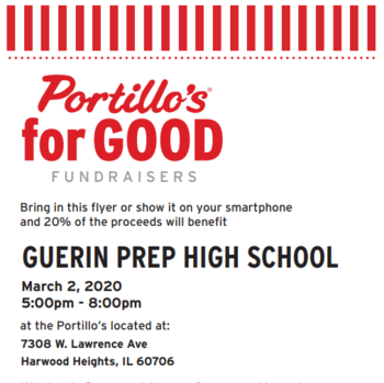 Portillo's Dine-Out PROM Fundraiser