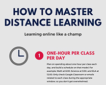 Tips on managing online learning