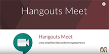 Image of Hangouts Meet Video Call