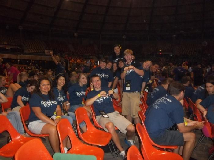 This weekend's past trip to Steubenville South, a conference that had over 3,000 Catholic teens.