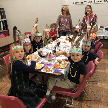 Kindergarten & 1st Grade Thanksgiving Feast