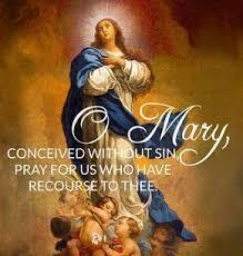 Immaculate Conception celebrated on Dec. 9th since Dec. 8th is a Sunday