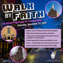 Walk by Faith: Young Adult Advent Pilgrimage Walk