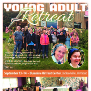 Young Adult Retreat Dumaine