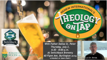 Theology on Tap with Fr. Dallas St. Peter
