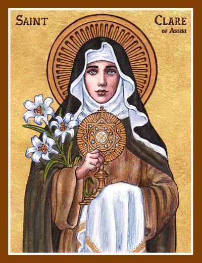 Saint Clare of Assisi ParishLove God, Serve God: Everything is in that.