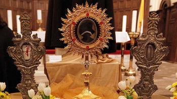 Healed by the Relics of Saints