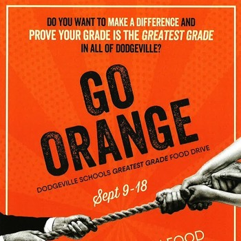 Go Orange for Second Harvest Food Bank!