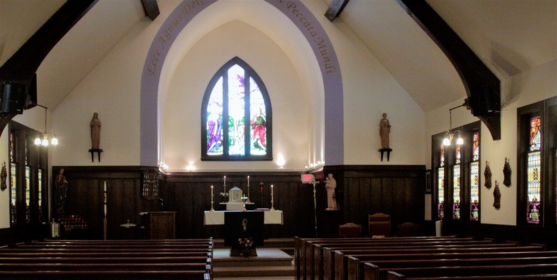Interior, St. Anthony Church, Bethel VT