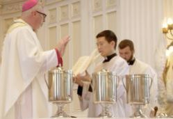 Chrism Mass rescheduled for Tuesday, June 30 at 2:00 pm at the Cathedral