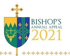 2021-2022 Bishop's Annual Appeal Begins This Weekend with In-Pew Donations.
