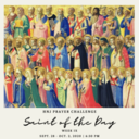 HNJ Prayer Challenge Week IX: Saint of the Day