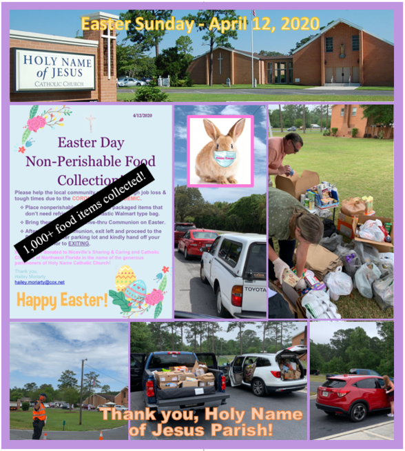 Easter Sunday Food Drive